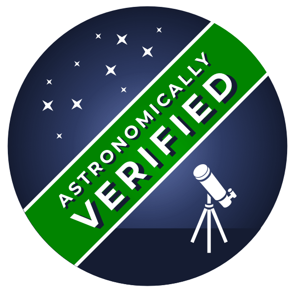 Under Lucky Stars Astronomically Verified